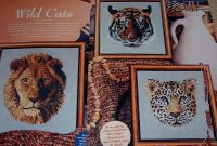 Three Wild Cats ~ Cross Stitch Charts
