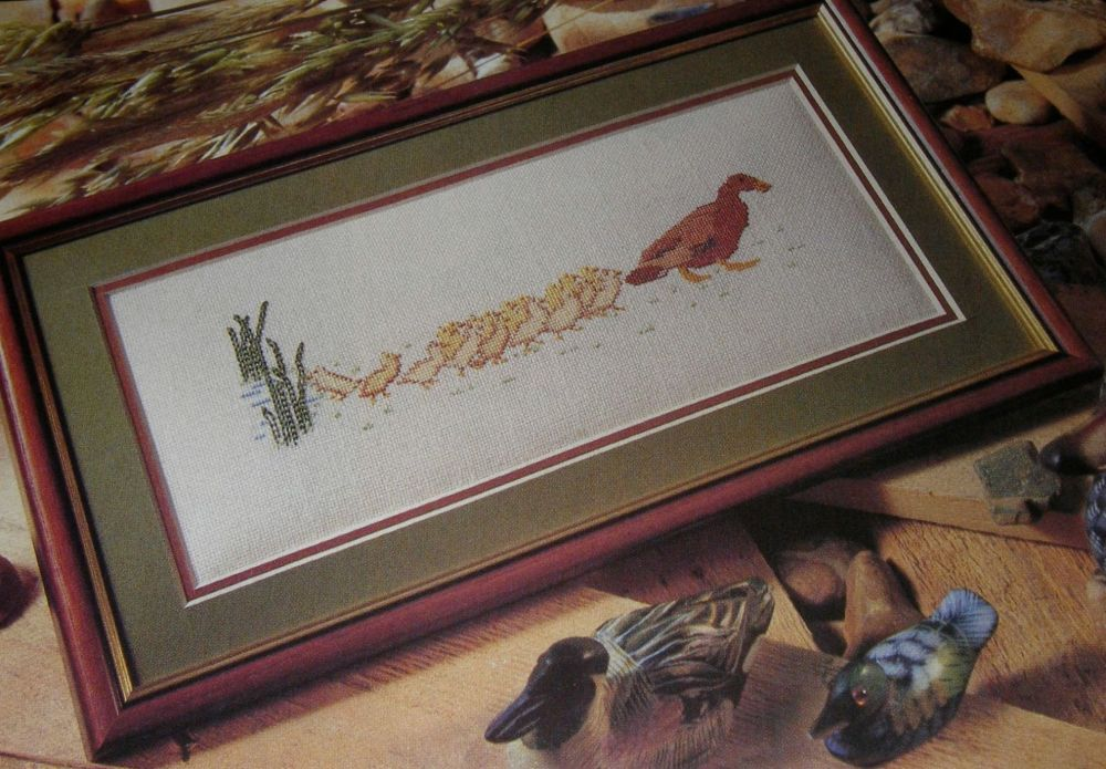 Family of Ducks ~ Cross Stitch Chart