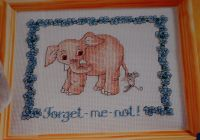 Forget-Me-Not! ~ Cross Stitch Chart