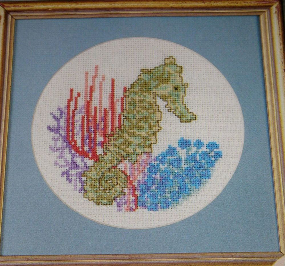Sea Horse ~ Cross Stitch Chart