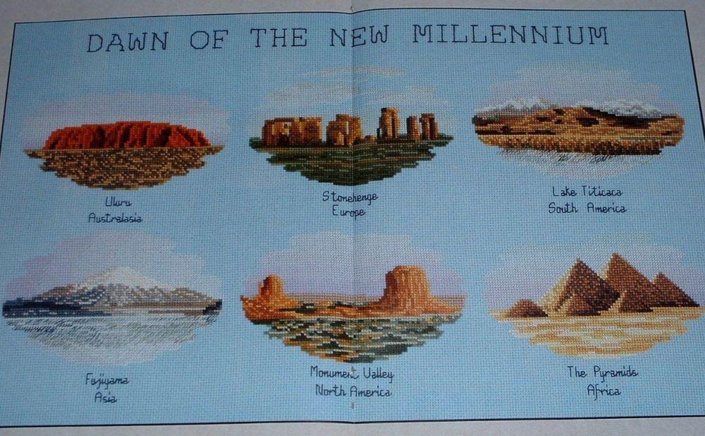 Dawn of the New Millennium ~ Cross Stitch Chart