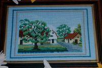 Country Village Scene ~ Cross Stitch Chart