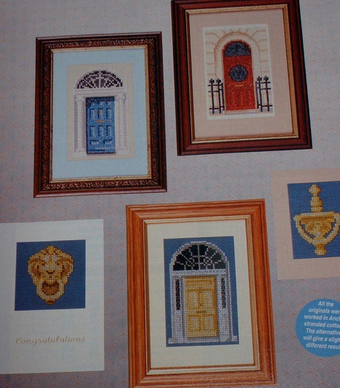 Georgian Doors & Brass Knockers ~ Cross Stitch Charts