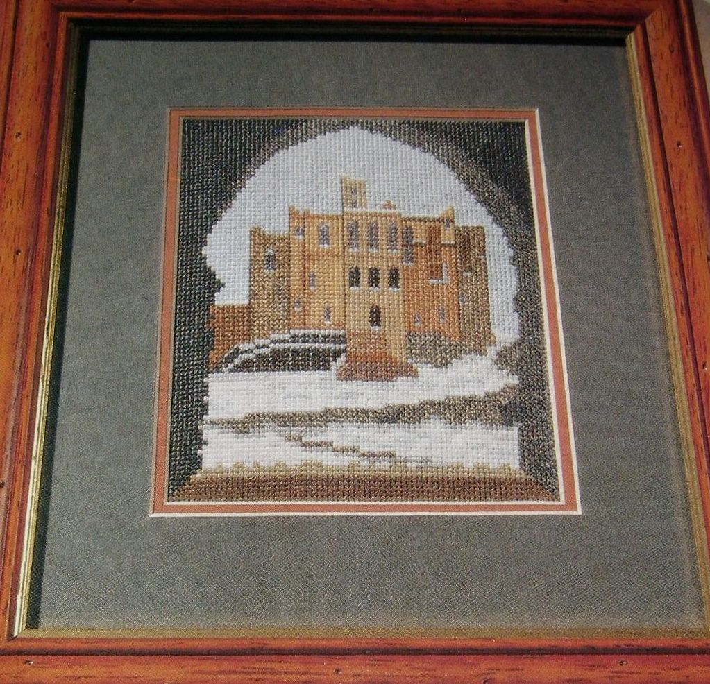 Warkworth Castle Northumbria ~ Cross Stitch chart