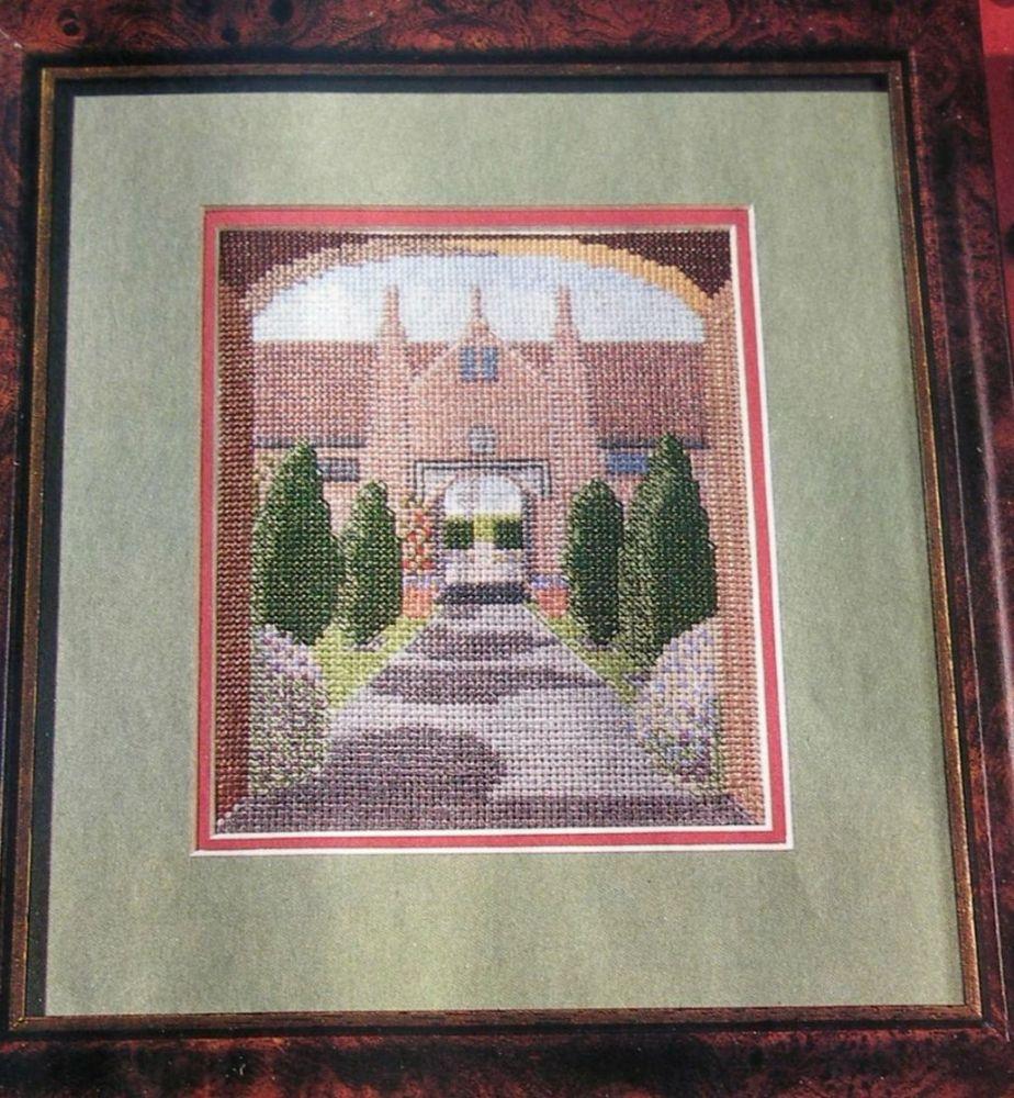 Sissinghurst Castle Kent ~ Cross Stitch chart