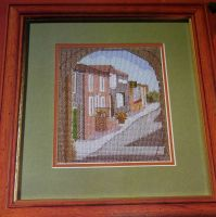 The Old Tower Forge Rye East Sussex UK ~ Cross Stitch chart