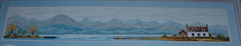 A Scottish Highland Landscape ~ Cross Stitch Chart