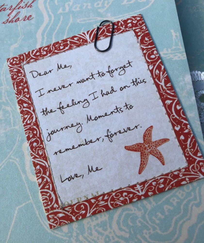 Dear Me Betsy Note