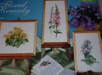 Thea Gouverneur: A Trio of Wildflowers ~ Three Cross Stitch Charts