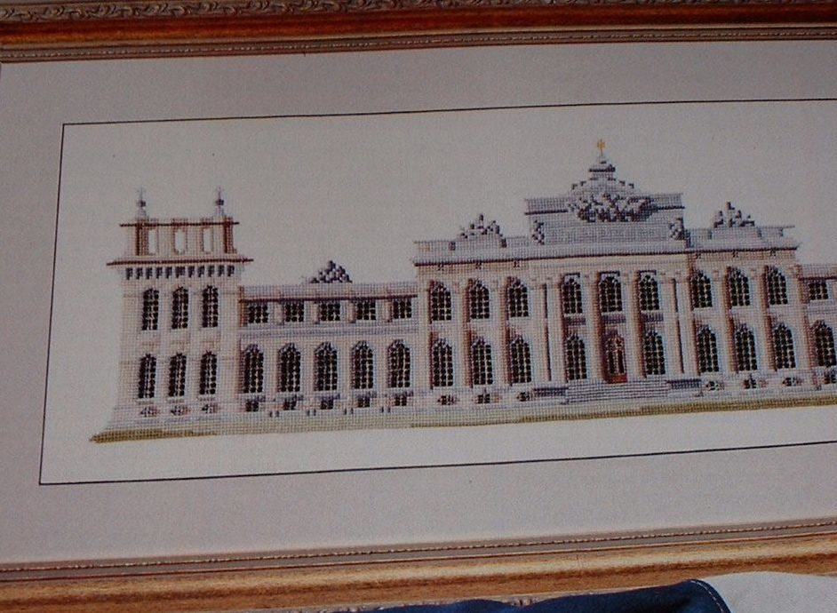 Blenheim Palace, Woodtsock, Oxfordshire, England, UK ~ Cross Stitch Chart