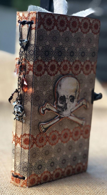 Halloween TN travellers notebook spine
