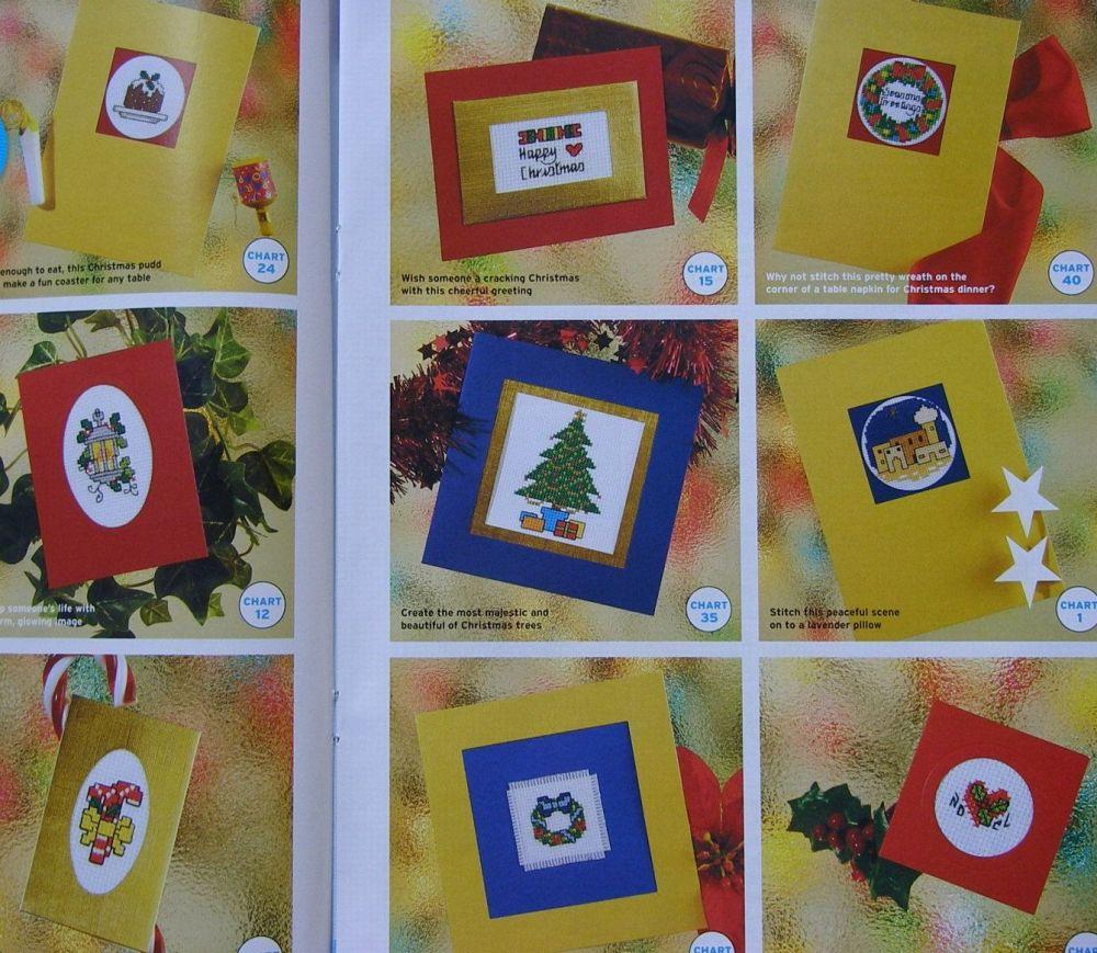 41 Christmas Card Designs ~ Cross Stitch Charts