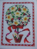 Winter Topiary Trees ~ Cross Stitch Charts