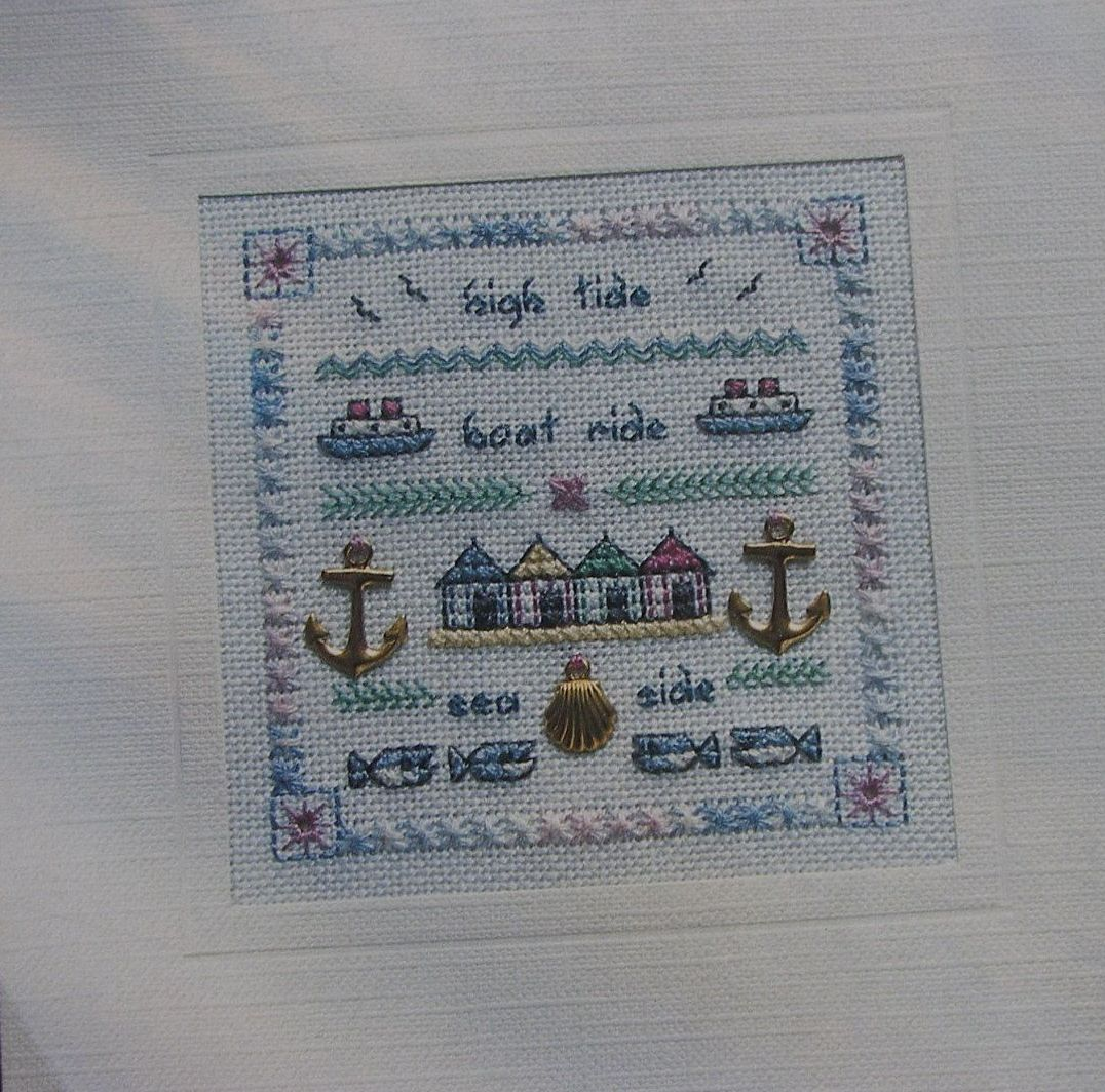 Seaside Sampler ~ Counted Thread Embroidery Pattern
