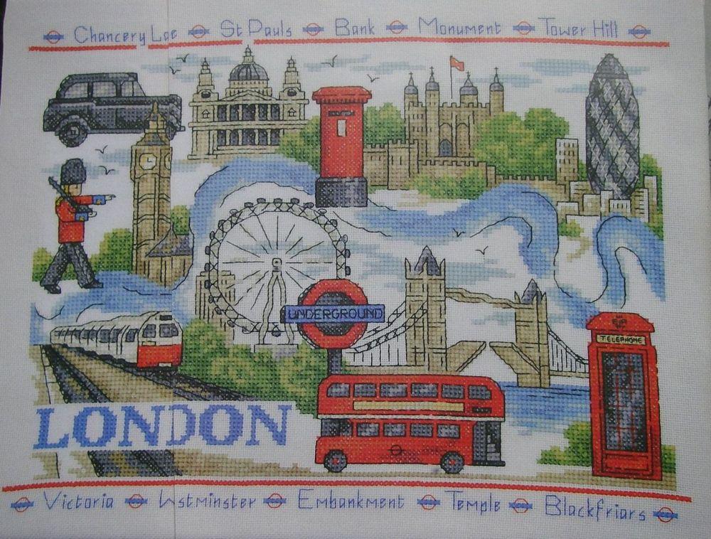 Landmarks of London ~ Cross Sttich Chart