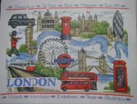 Landmarks of London ~ Cross Sttich Chart