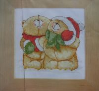 Forever Friends Bears at Christmas ~ Cross Stitch Chart