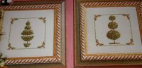 Topiary Trees ~ Two Cross Stitch Charts