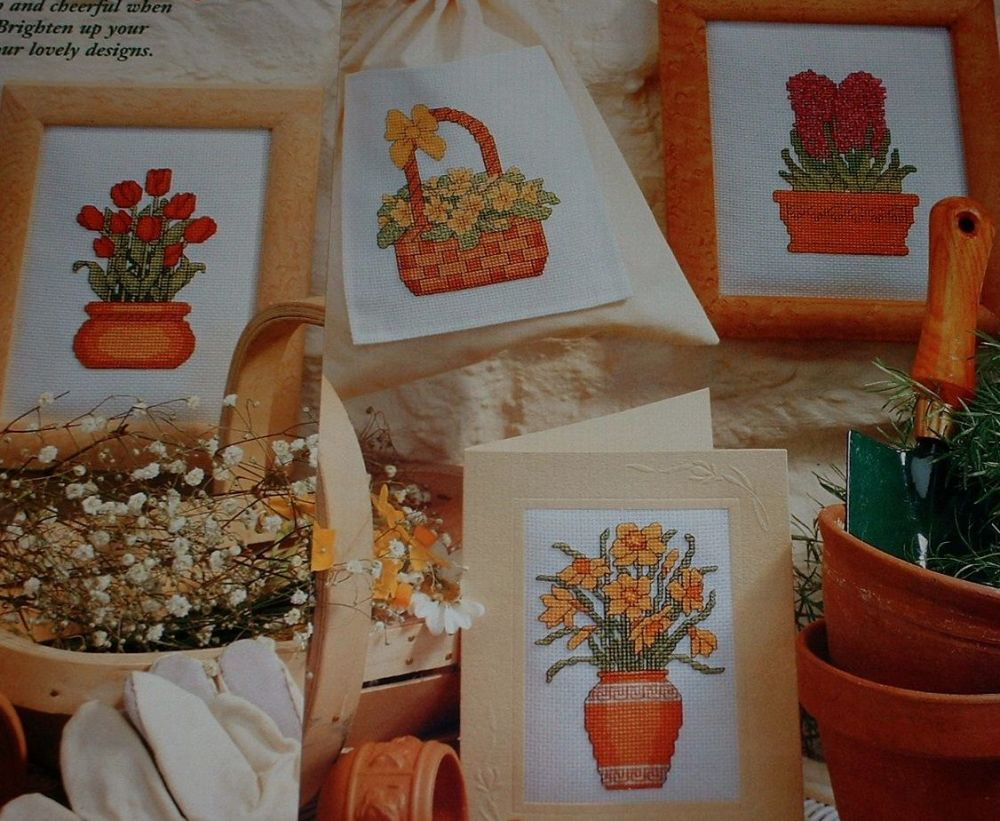 Four Spring Bulbs ~ Cross Stitch Charts