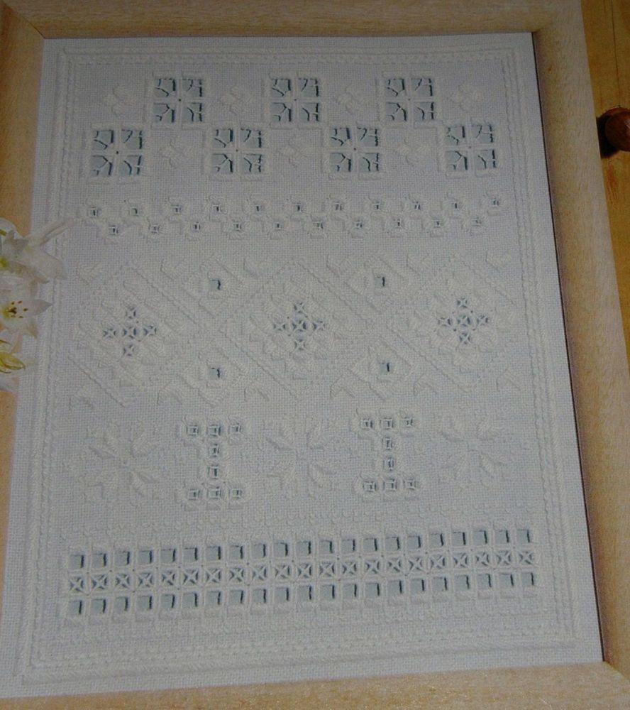 Hardanger Sampler & Cards Masterclass ~ Hardanger Embroidery Patterns