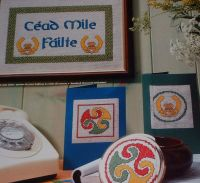 Cead Mile Failte ~ Two Celtic Cross Stitch Charts