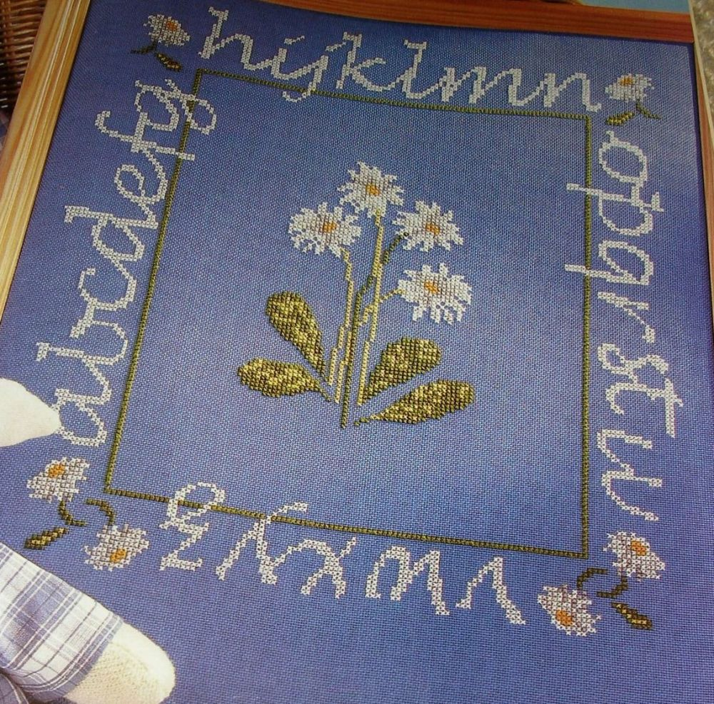 Daisy Sampler & Cushion ~ Cross Stitch Chart