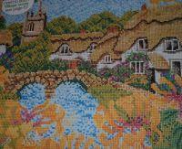 Honeysuckle Village ~ Cross Stitch Chart