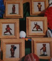 Sporting Bears - SIX Cross Stitch Charts