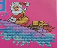 Santa's Journey on Christmas Eve ~ Ten Cross Stitch Charts