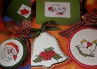 12 Christmas Stocking Fillers ~ Cross Stitch Charts