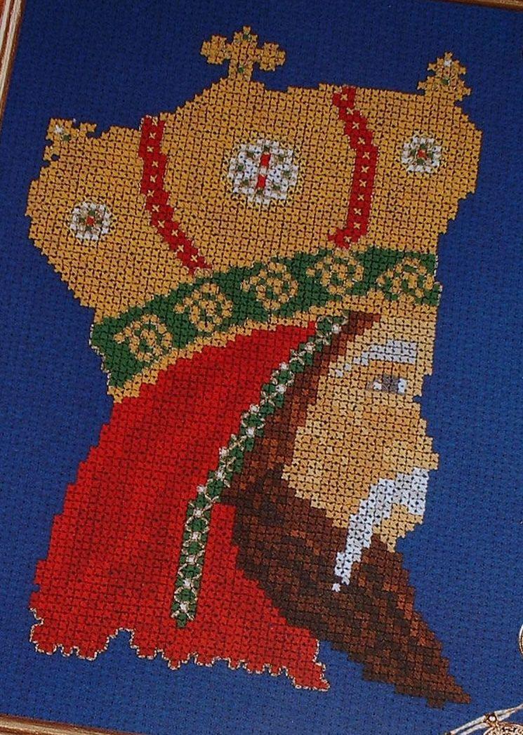 Christmas Nativity King/Wise Man - Cross Stitch Chart