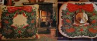 Christmas Evergreen Needlepoint & Cross Stitch Cushions ~ Patterns