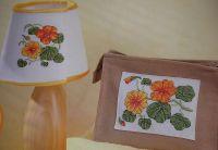 Nasturtium Flowers ~ FOUR Cross Stitch Charts