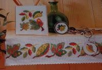 Leaf Patterns ~ Five Cross Stitch Charts