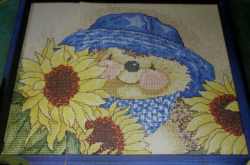 Country Companions: Sunflowers ~ Cross Stitch Chart