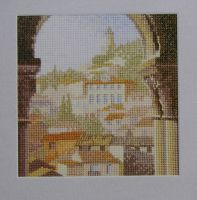 John Clayton: Summer Archway ~ Cross Stitch Chart