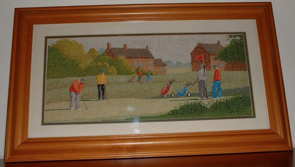 John Clayton: Golfing ~ Cross Stitch Chart