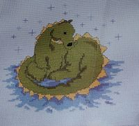 Starstruck Dragon ~ Cross Stitch Chart
