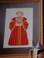 Henry VIII's Wife: Anne of Cleves ~ Cross Stitch Chart