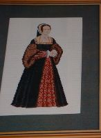 Henry VIII's Wife: Anne Boleyn ~ Cross Stitch Chart