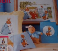 Beatrix Potter: Peter Rabbit & Friends in the Garden ~ Cross Stitch Chart
