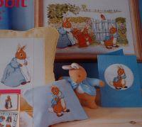 Beatrix Potter: Peter Rabbit & Friends in the Garden ~ Cross Stitch Chart