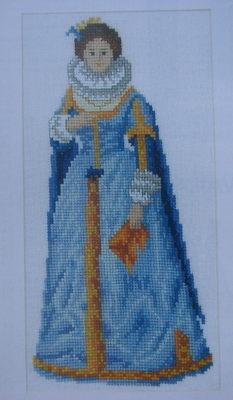 Jacobean Lady: 1620 ~ Cross Stitch Chart