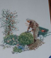 Thea Gouverneur: The Gardener ~ Cross Stitch Chart