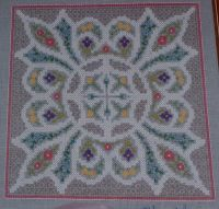 Congress Cloth Knot Garden ~ Cross Stitch Chart