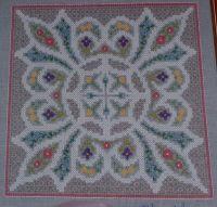Congress Cloth Knot Garden ~ Cross Stitch Chart