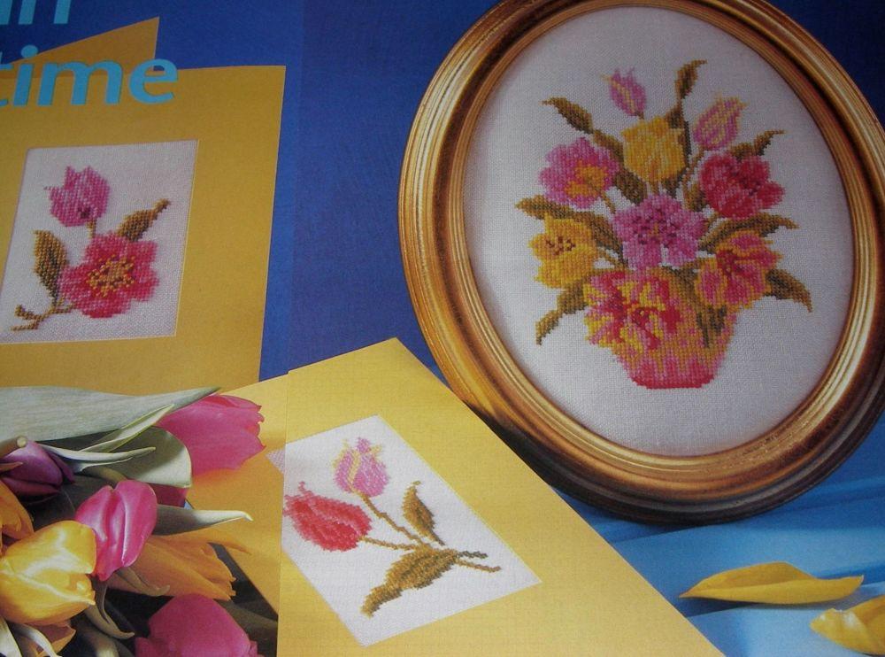 Tulips ~ Three Cross Stitch Charts