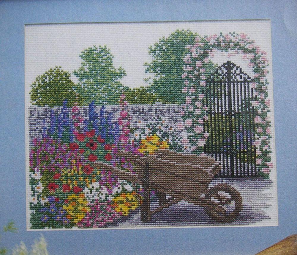 English Summer Garden ~ Cross Stitch Chart