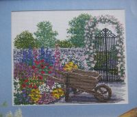 English Summer Garden ~ Cross Stitch Chart