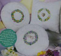 Floral Garland Cushions ~ Ribbonwork Patterns